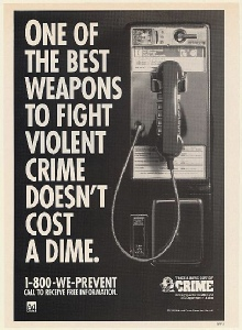 payphone Crime Ad