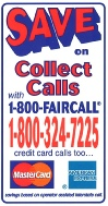 Save On Collect Calls Sticker