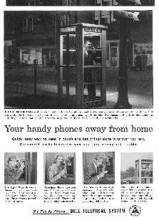 Bell System phonebooth